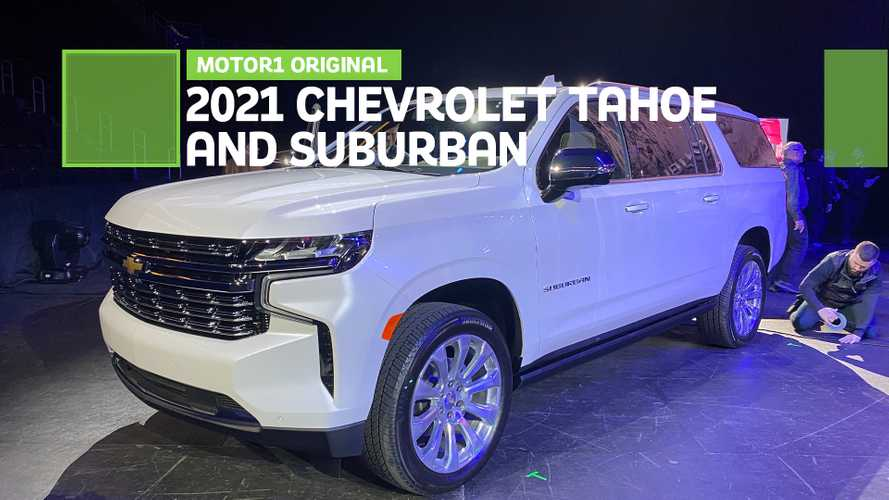 2021 Chevrolet Suburban And Tahoe: First Look