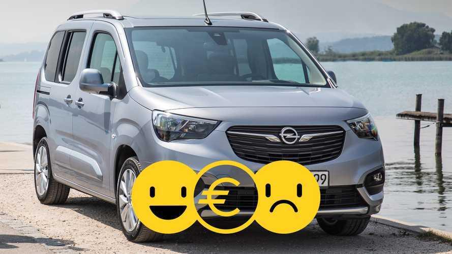 Promozione Opel Combo, perché conviene e perché no