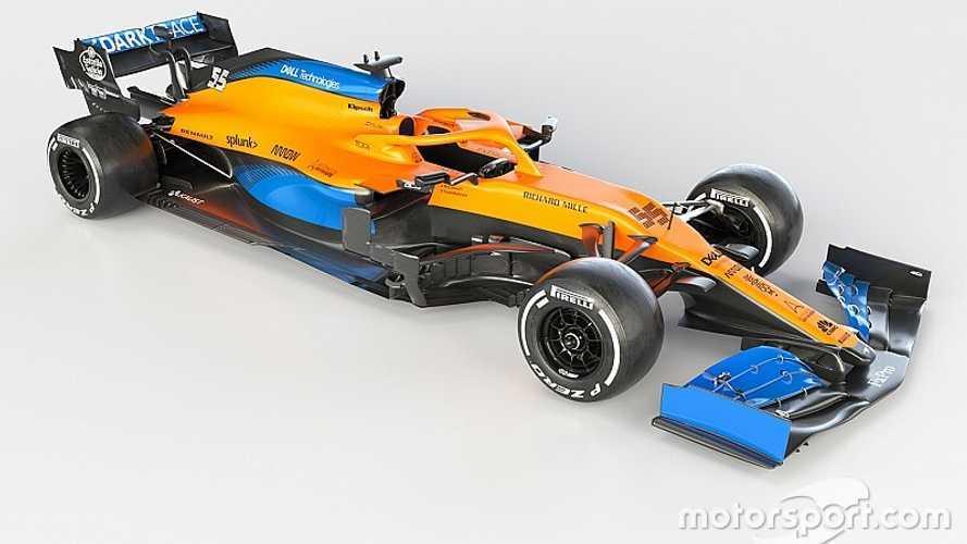 McLaren de 2020 F1 aracını tanıttı