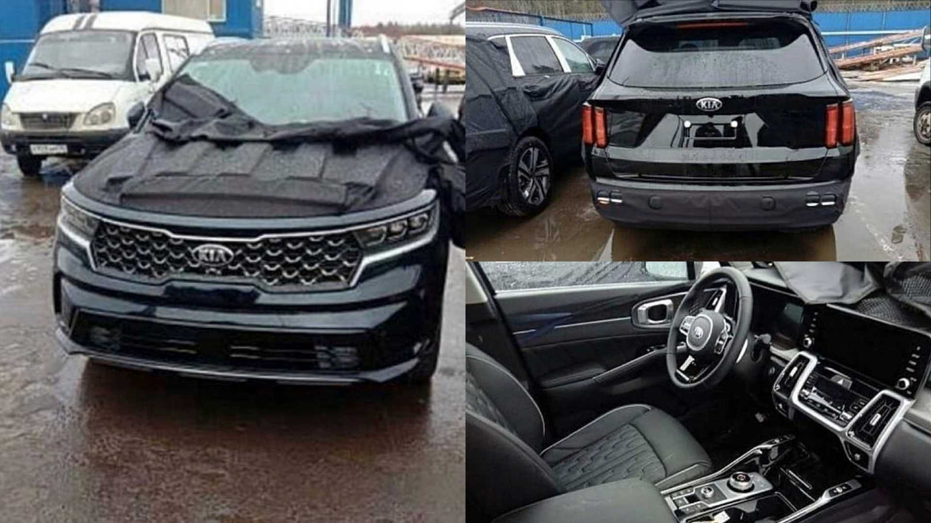 2021 Kia Sorento shows its updated face, interior in leaked photos