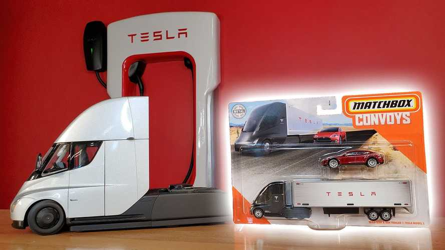 2020 Tesla Semi Official Matchbox Car Unboxing