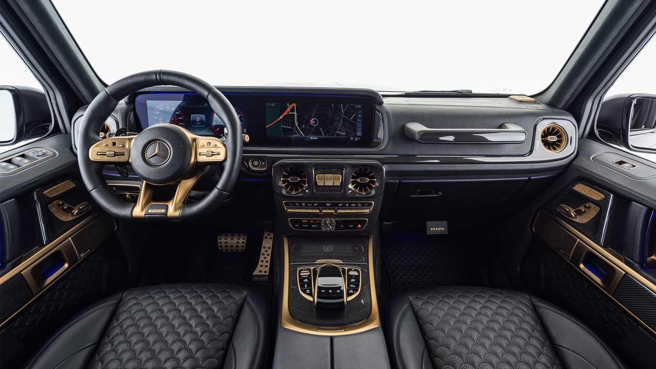 Brabus Mercedes-AMG G63 800 Black&Gold