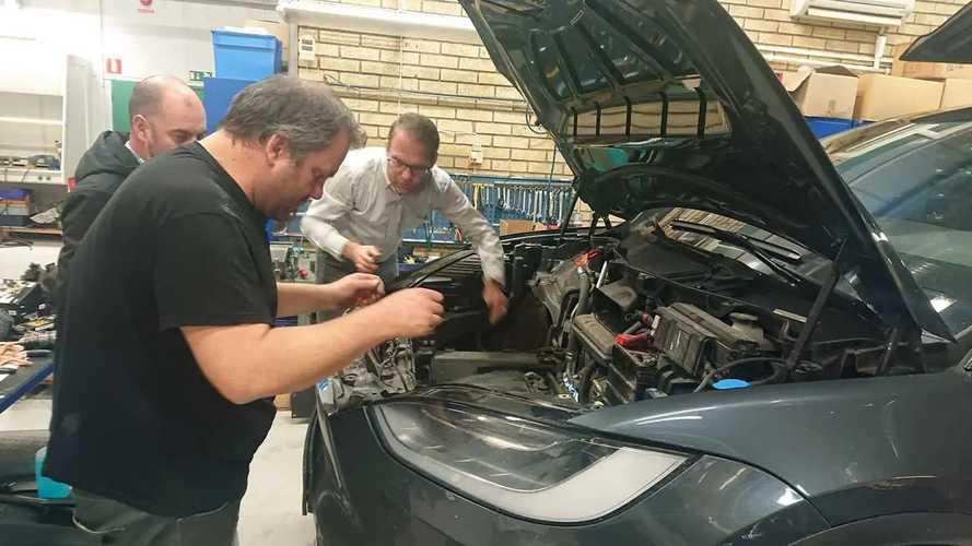 Engine Heater Helps Extend Tesla Model X Range In Sweden