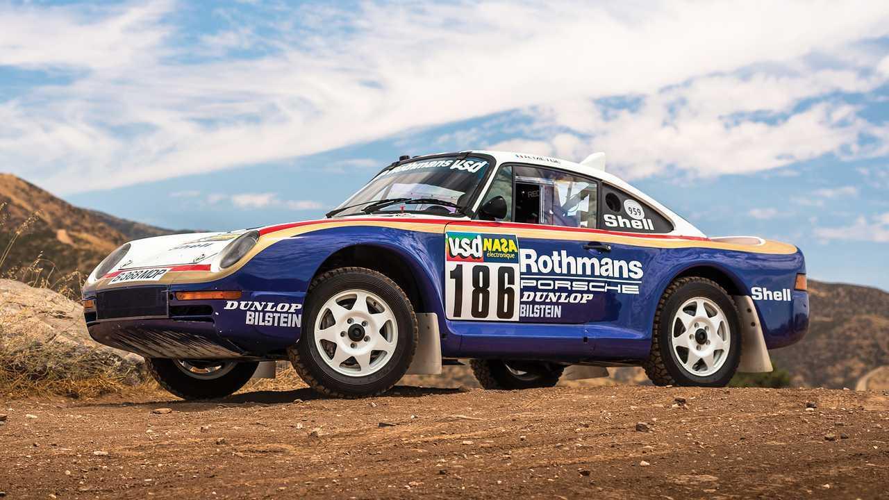 4 - Porsche 959 Paris-Dakar (1985) - 5,34 millions d'euros