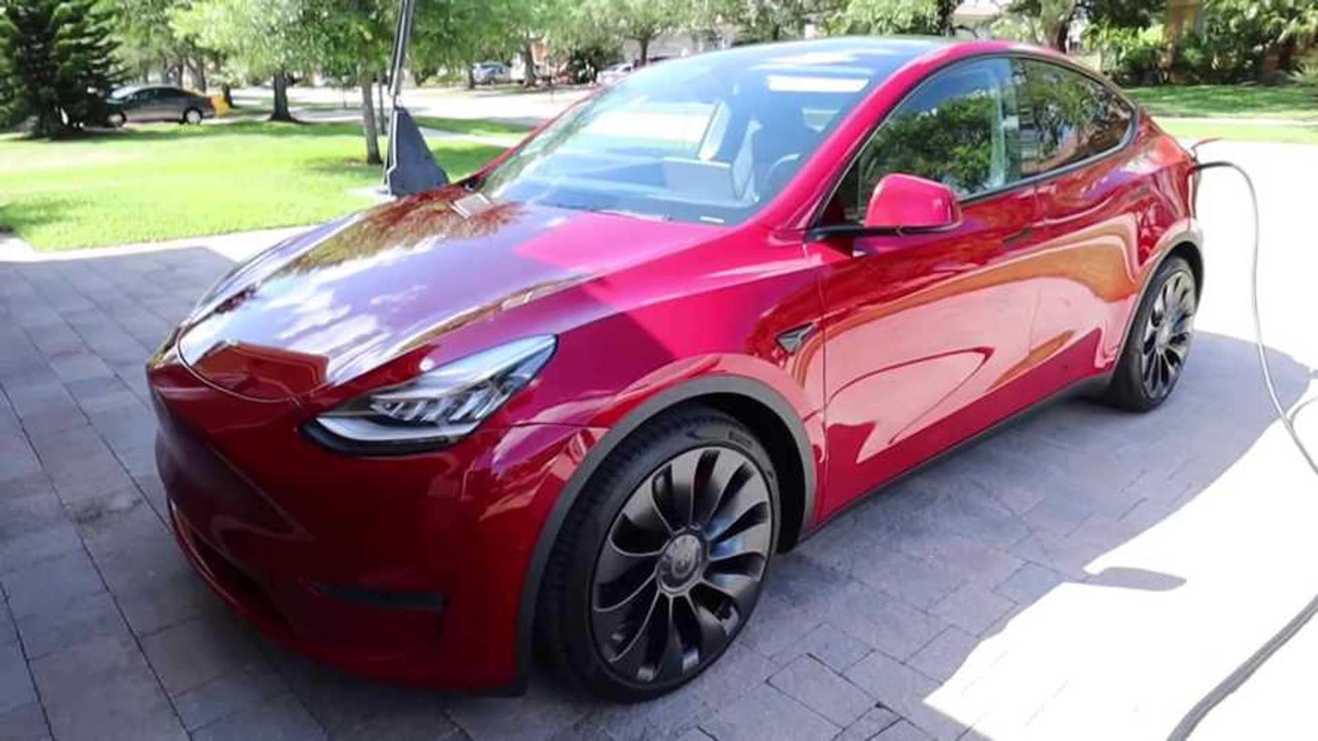 Tesla Model Y Performance Test
