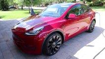 Tesla Model Y teljesítmény-teszt