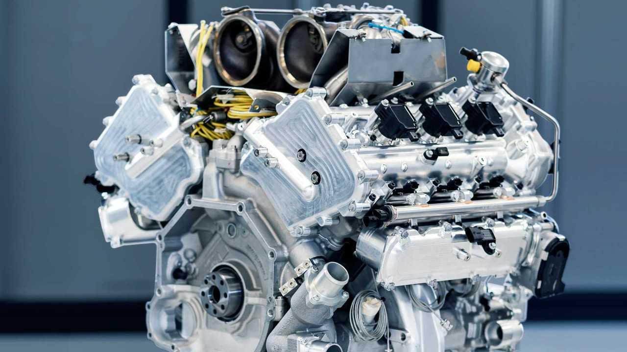 Aston Martin Valhalla TM01 3,0 Liter turbófeltöltésű V6