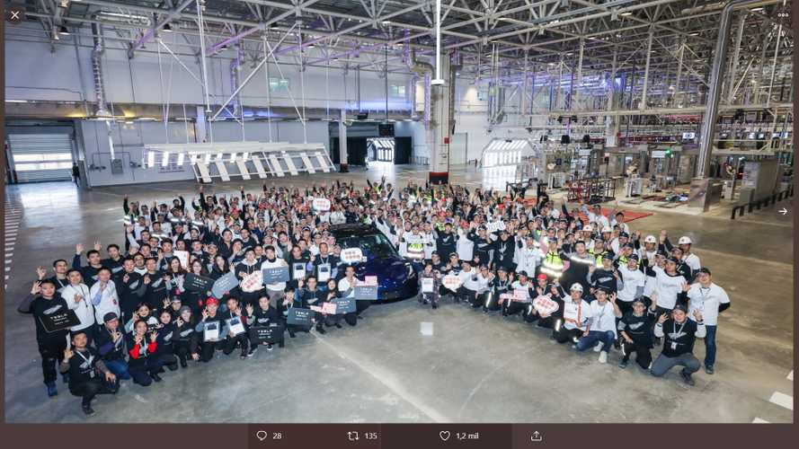 Tesla livre les premières Model 3 'made in china'