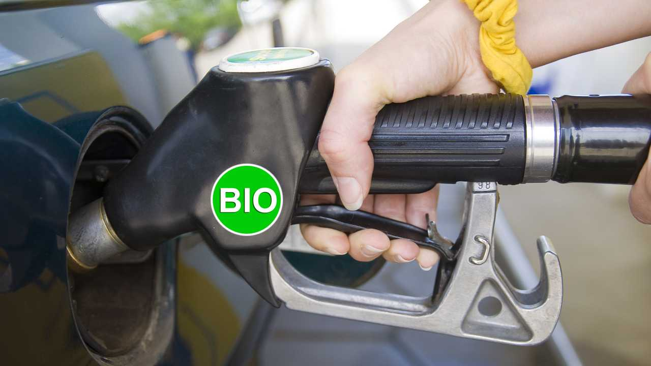 Biofuel fuel nozzle