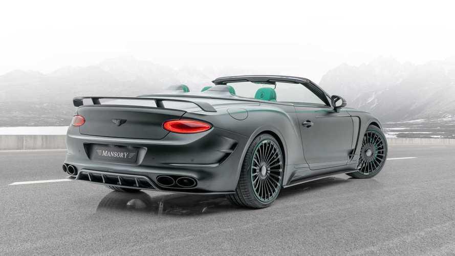 Mansory revisite la Bentley Continental GT Cabriolet