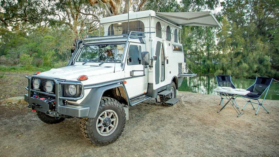 EarthCruiser Mercedes G-Pro Escape Is Compact Overlanding Done Right