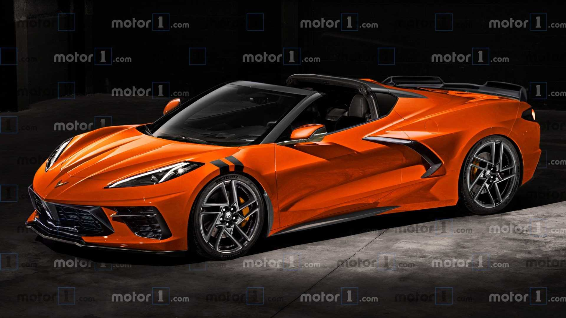 2020 Corvette Z07 Engine