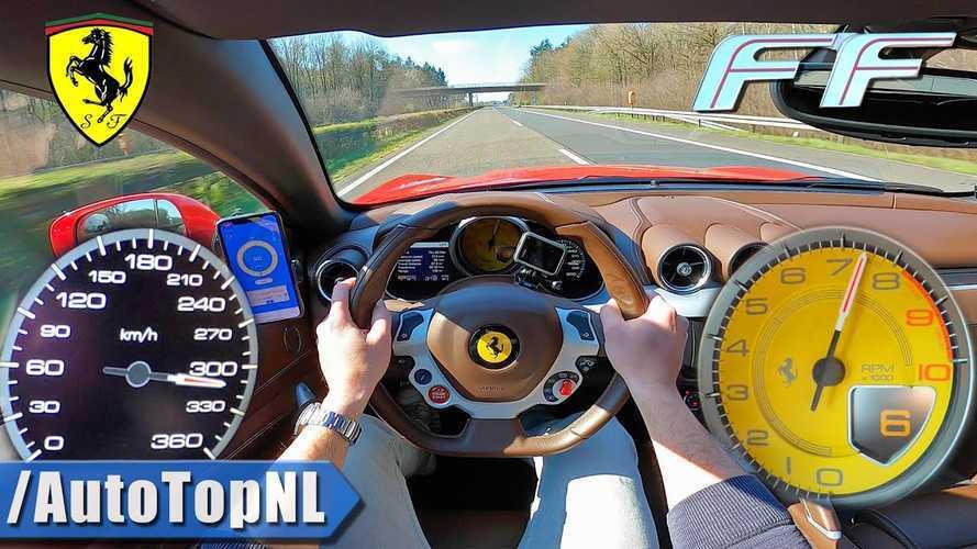 320 km/h-s sebességgel is száguldanak a Ferrari FF-fel egy új videóban