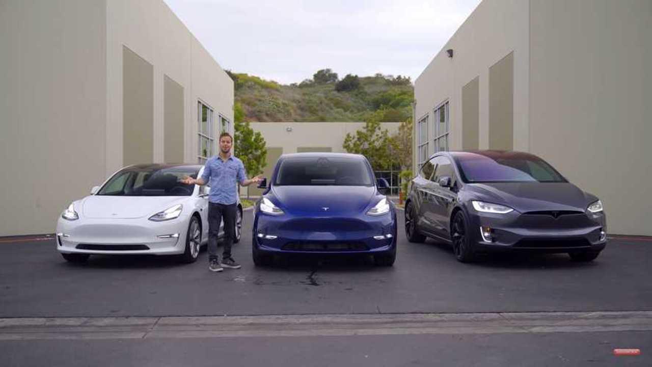 Tesla Y modell