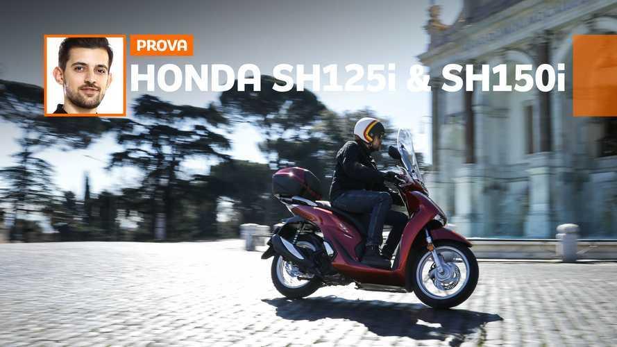 Honda SH 125i & SH 150i 2020 - TEST