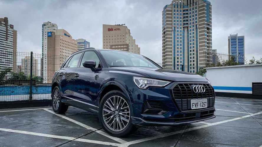 SUVs/crossovers premium mais vendidos em fevereiro: Audi Q3 assume liderança