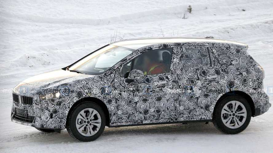BMW 2 Series Active Tourer Spied Testing In A Snowy Landscape