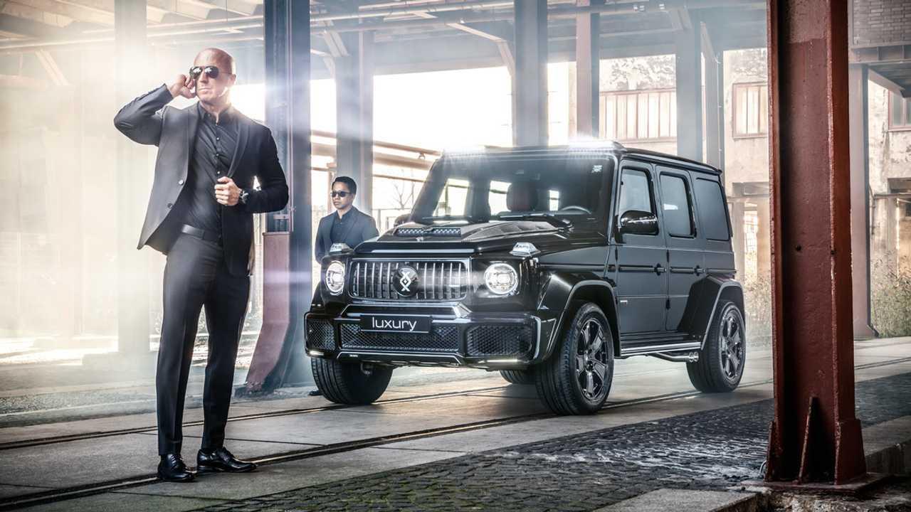 Ce Mercedes-Benz Classe G blindé résiste aux balles et aux explosions