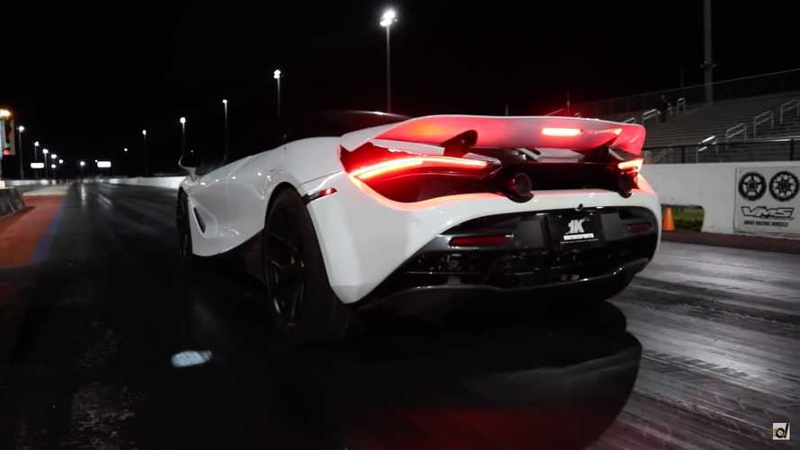 McLaren 720S runs sub-9-second quarter-mile with brutal acceleration