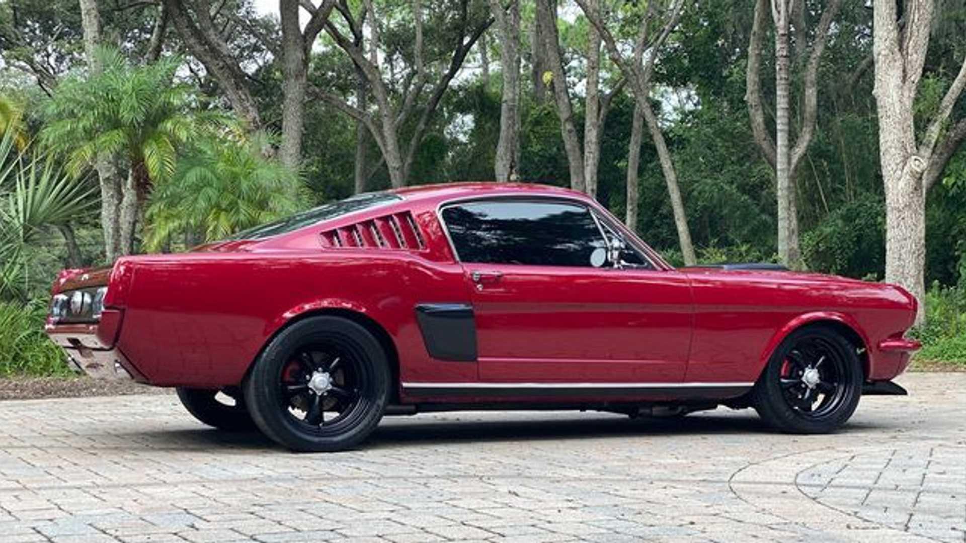 """[""""1966 Ford Mustang Packs Roush Power""""]"""