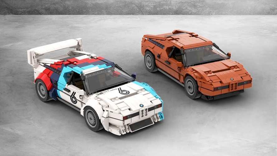 Estos BMW M1 de LEGO están más cerca de hacerse realidad