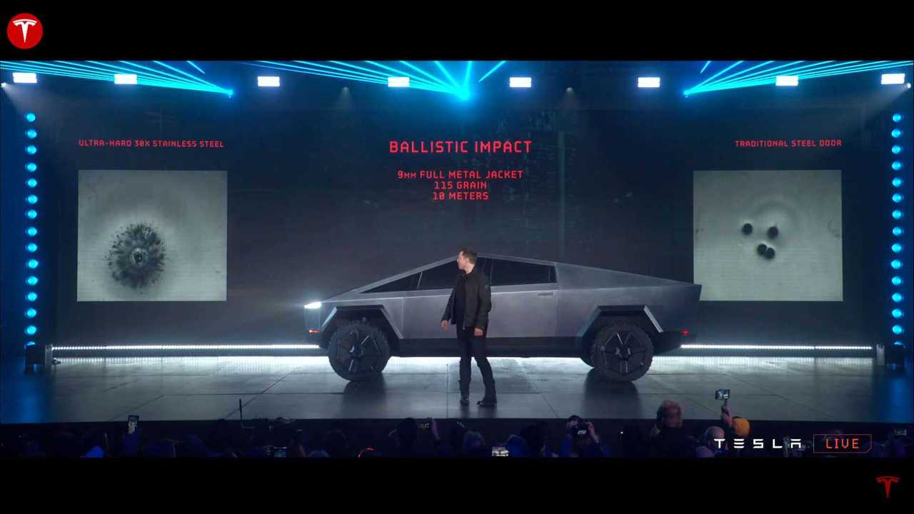 The Tesla Cybertruck is an armored vehicle