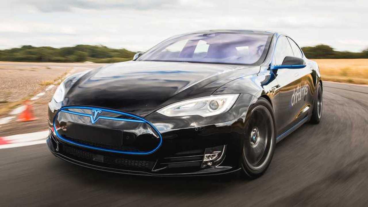 Tesla Model S - EVs zap ahead of supercars