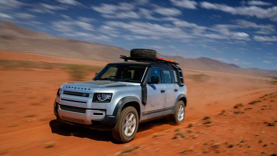 Land Rover Defender (2020): Unterwegs in Namibia