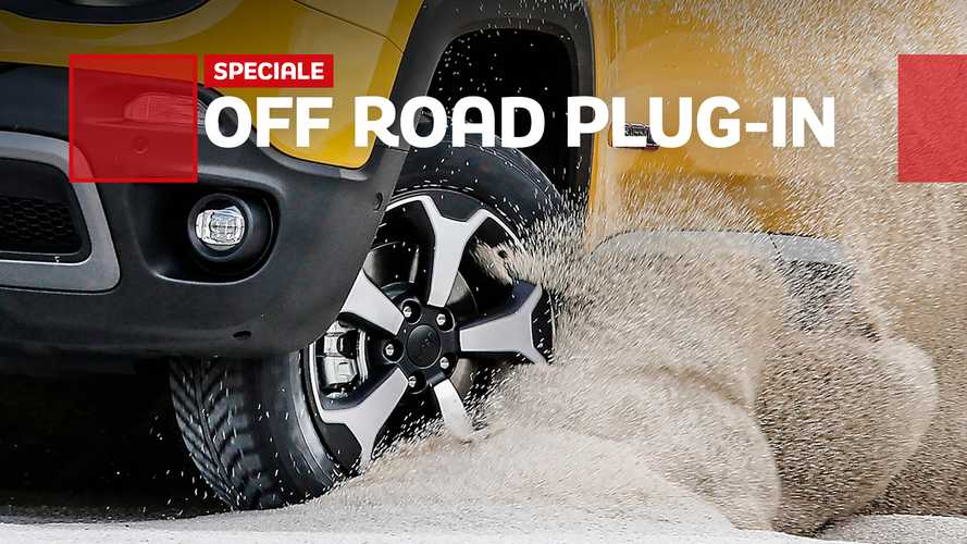 Auto ibride plug-in, come si guidano in off road
