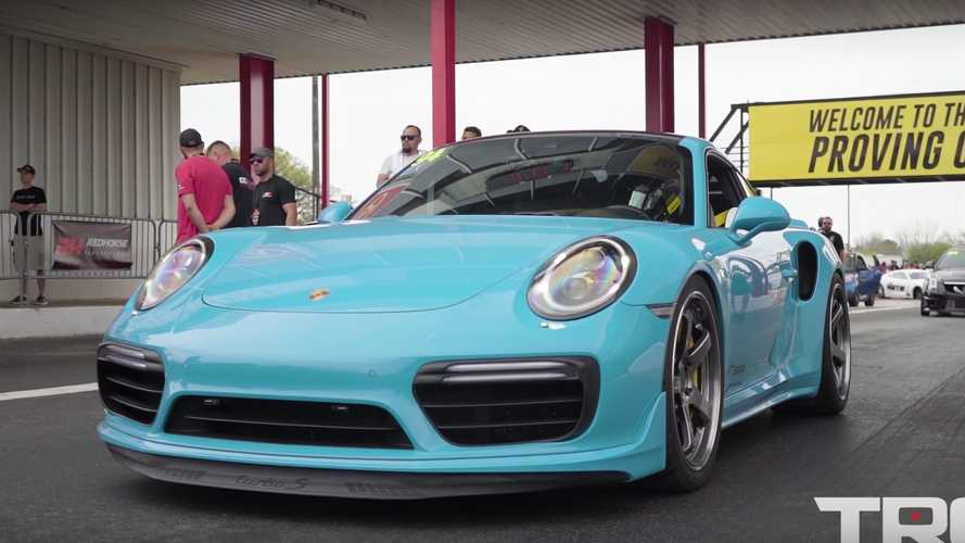 900-HP Porsche 911 Turbo S Hits 60 MPH In An Amazing 2.2 Seconds