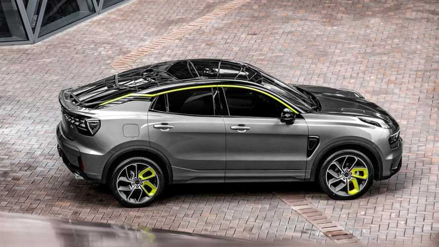 Geely и Volvo рассекретили новое кросс-купе