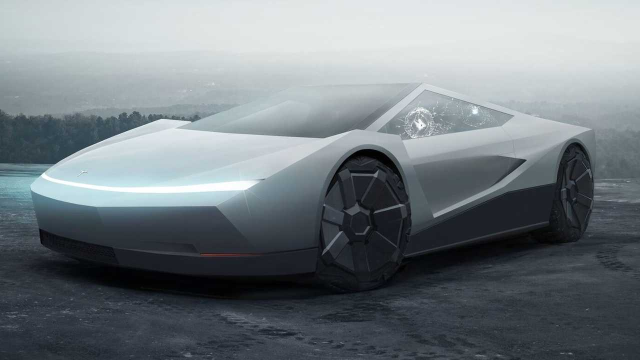 Will The Tesla Roadster Get The Cybertruck Treatment Like This Rendering?