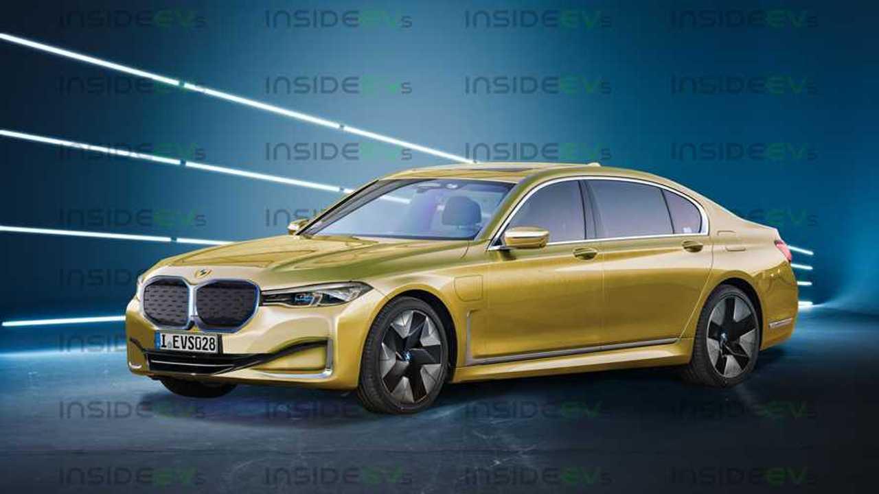 BMW i7 renderização