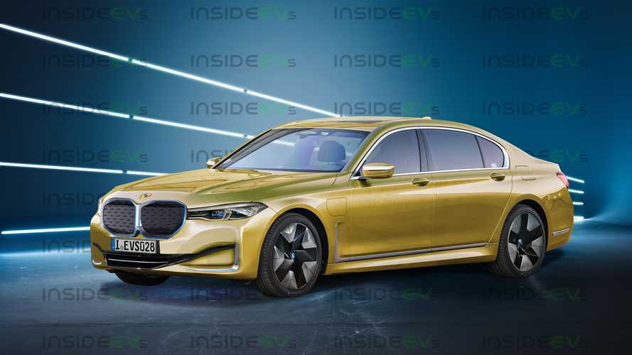 BMW i7 Is Coming To Fight The Mercedes-Benz EQS