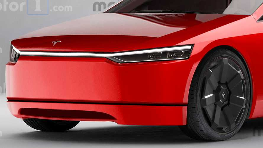 Render Tesla Model S Cybertruck