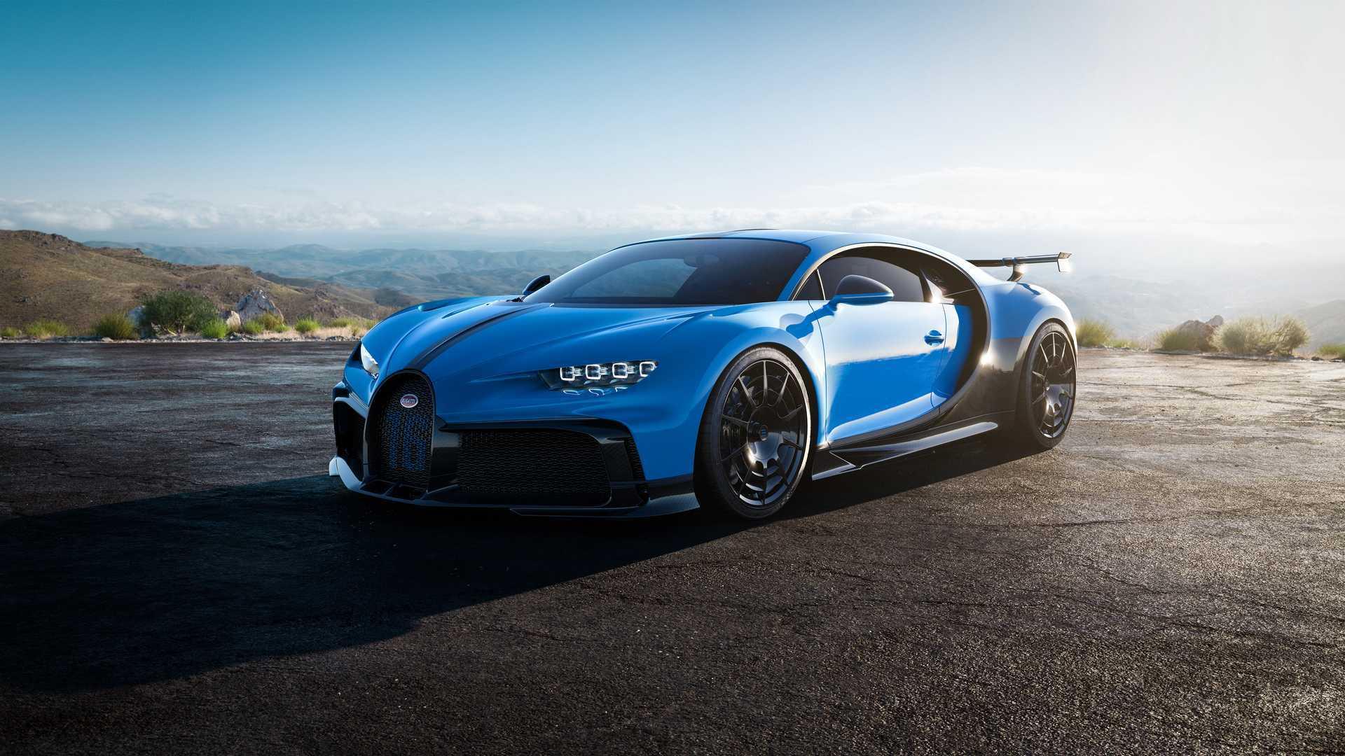 Bugatti Chiron Pur Sport Custa R 16 Milhoes E Tera Apenas 16 Unidades
