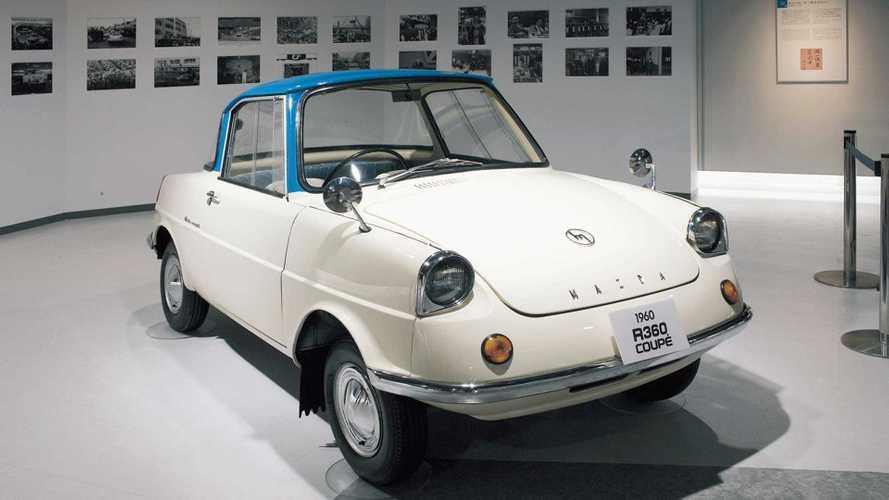 Mazda R360 Coupé: Vor 60 Jahren kam der erste Mazda-Pkw