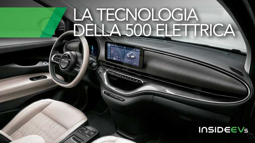 Tutta la tecnologia della nuova Fiat 500 elettrica