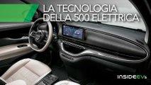 nuova fiat 500 elettrica infotainment guida autonoma