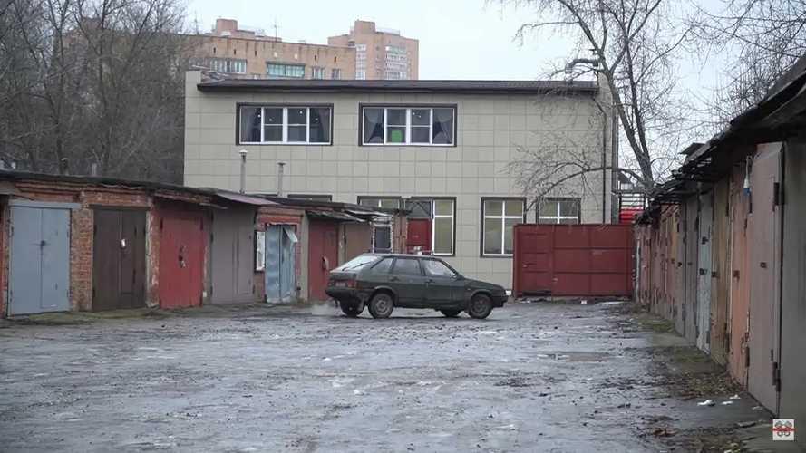 The Russian Cybertruck Has A Lada Samara Soul And Burns Gas
