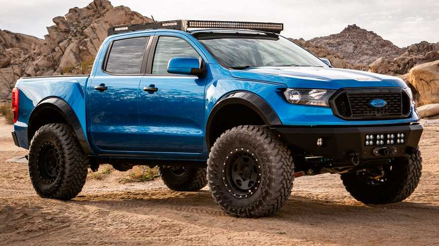 Ford Ranger Prorunner By APG Isn't A Raptor, But Looks Just As Mean
