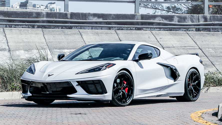2020 Chevrolet Corvette Looks Slick Wearing Vossen Wheels