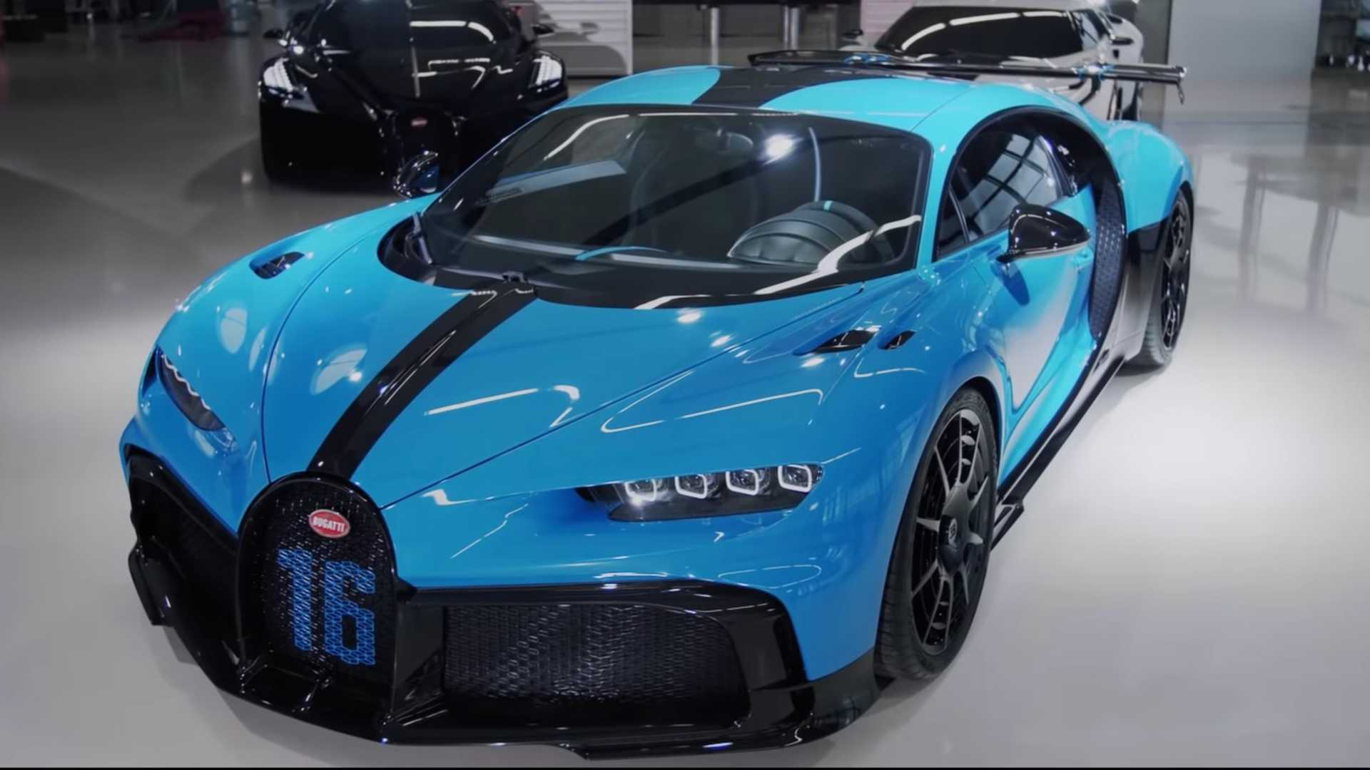 Bugatti Gives Video Tour Of Chiron Pur Sport