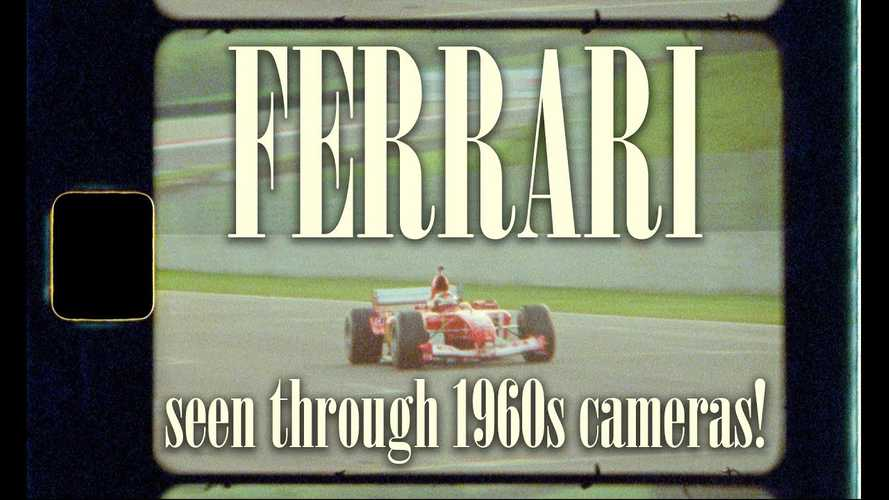 Modern Ferrari Racing Shot With 50-Year-Old Cameras