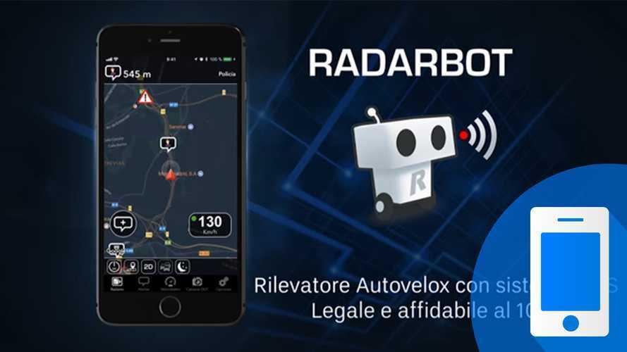 Radarbot, l'app per trovare gli autovelox e le postazioni Tutor