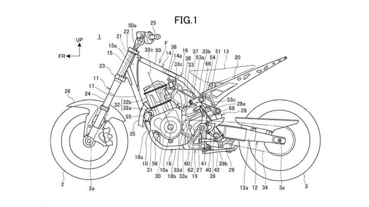 Honda Rebel Twin 1100 Patent