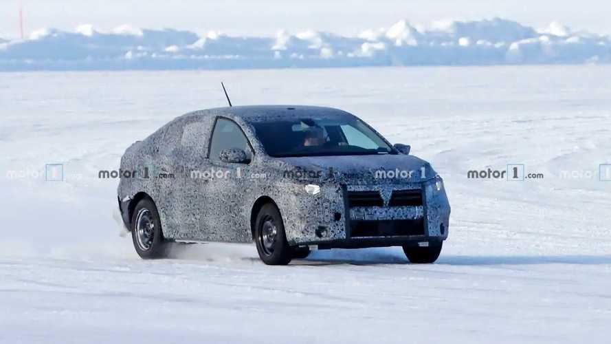 2020 Dacia Logan yeni casus fotoğraflar