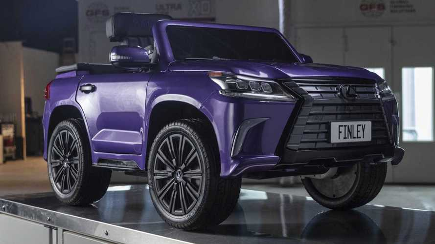 Lexus построил открытую электрическую версию LX ради благого дела