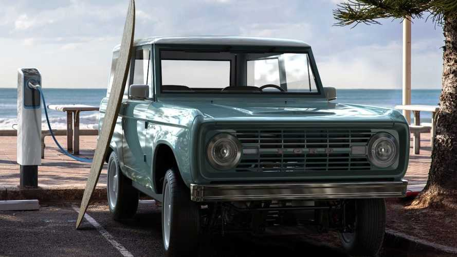 Classic Ford Bronco Converted To Electric Costs Almost $200,000