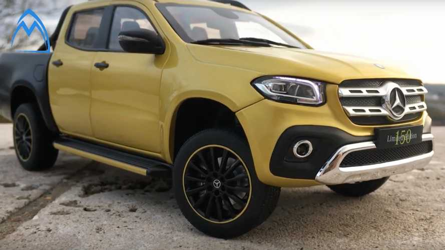 Mercedes X-Class Dies, But This Awesome Scale Model Lives On